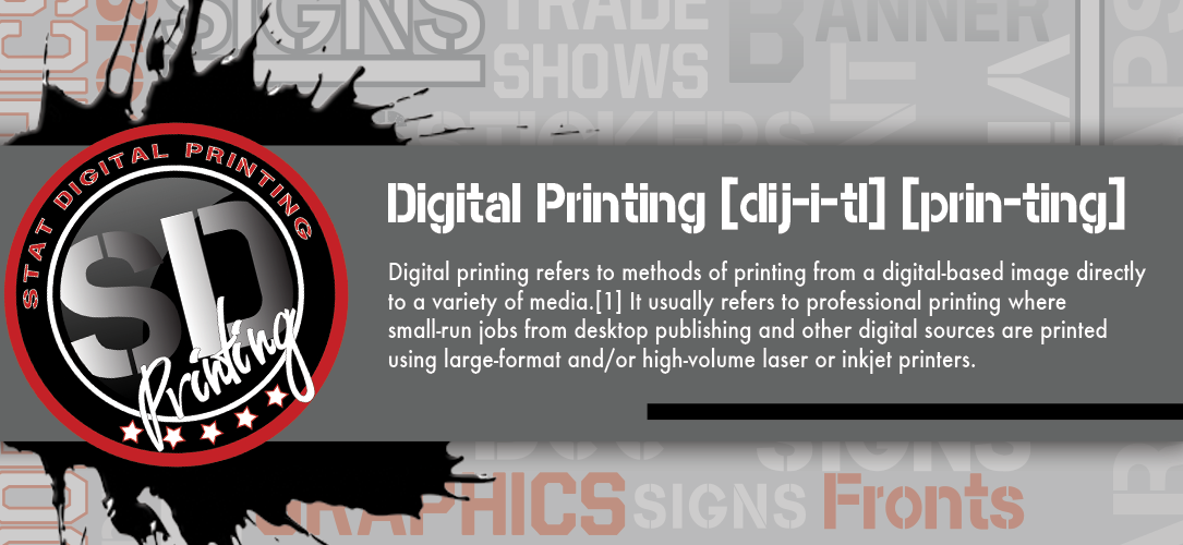 Stat Digital Printing Services